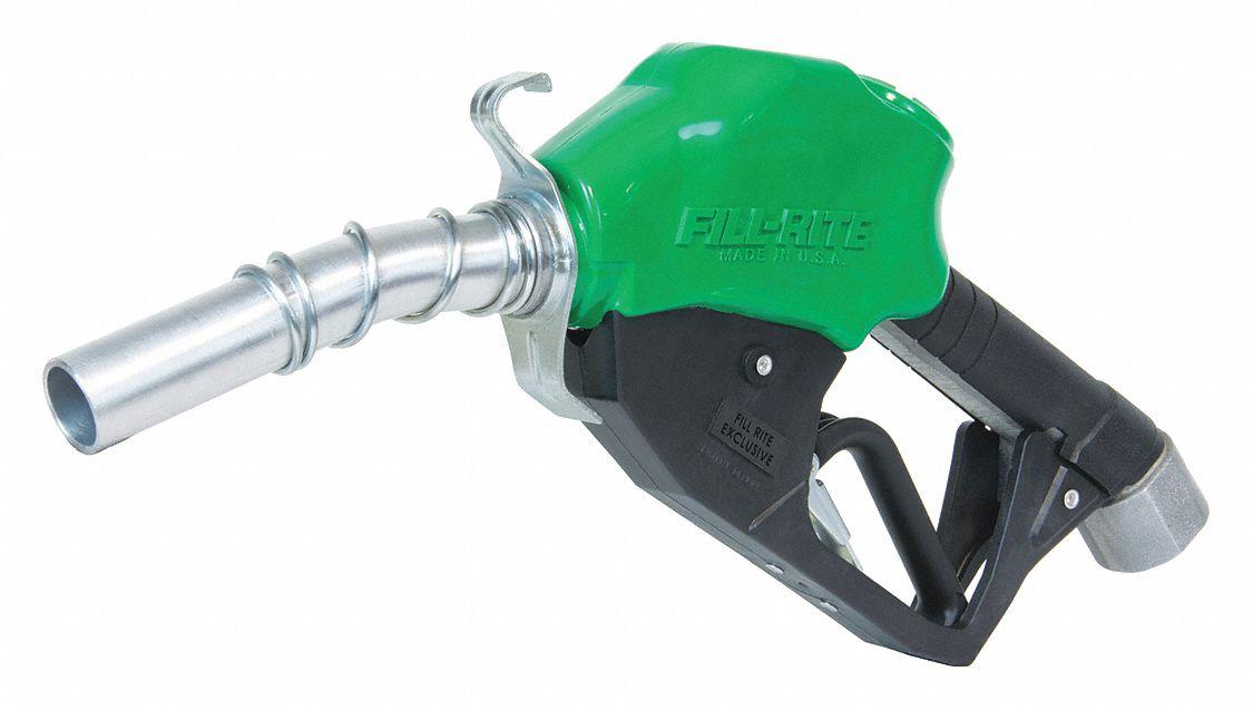 Fill Rite 16 Quot Aluminum Fuel Nozzle 50 Psi 1 Quot Npt Inlet