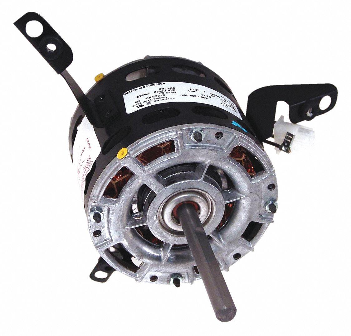 Century 1 4 hp direct drive motor permanent split for Furnace brook motors inventory