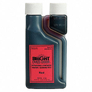 Color Coding Dye,Red,4 oz.