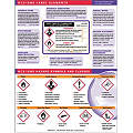 GHS Label Training Card,8-1/2 x 11In,Eng