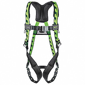 Full Body Harness,S/M,Sfty Glasses