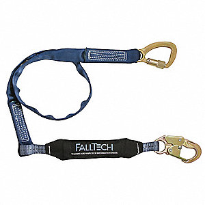 Shock-Absorbing Tie-Back Lanyard