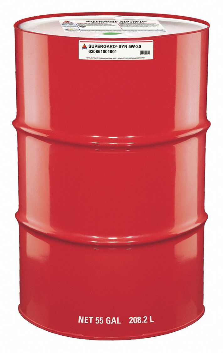Citgo engine oil 55 gal drum synthetic base 45kj14 for Motor oil 55 gallon drums wholesale