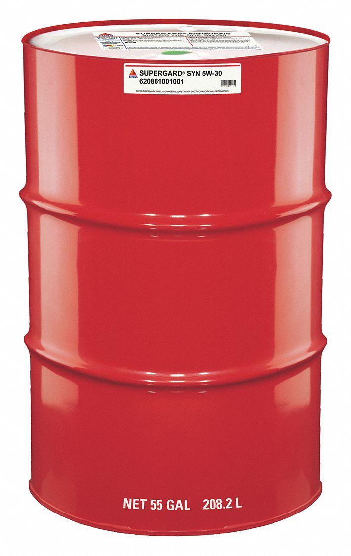Citgo Engine Oil 55 Gal Drum Synthetic Base 45kj14