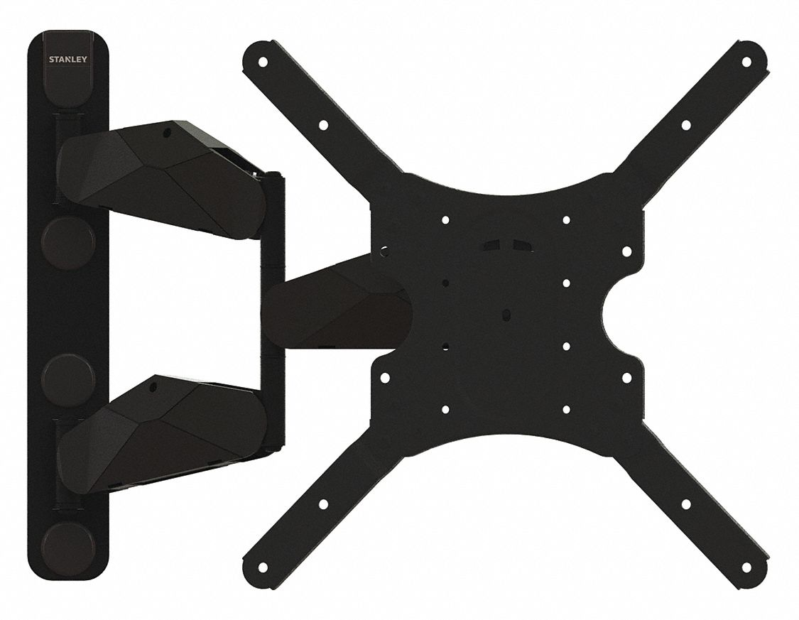 Stanley Full Motion Tv Wall Mount For Use With Tv Mounts