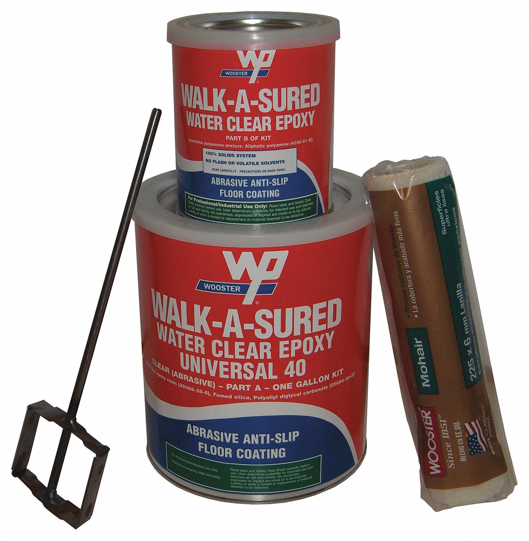 Wooster Products Anti Slip Epoxy Anti Slip Floor Coating