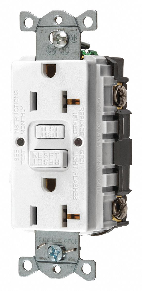 Hubbell Wiring Device Kellems 20a Industrial Receptacle