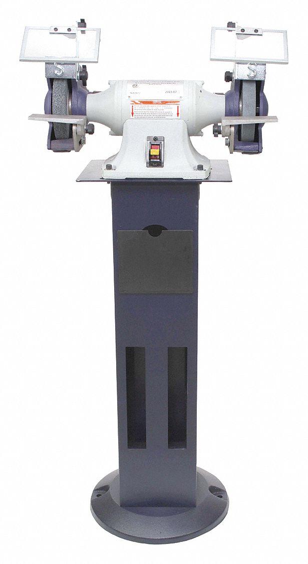 Dayton 6 Quot Bench Grinder 115 240v 1 2 Hp 3450 Max Rpm
