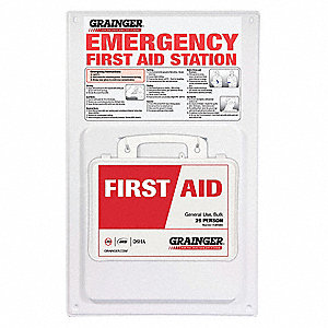 First Aid Kit,Unitized,125Pcs,25 Ppl