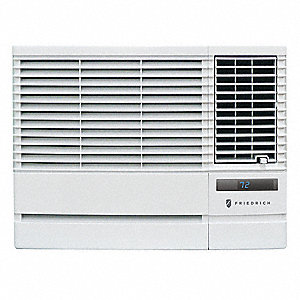 Window AC Unit,Heat,8K Btu,115V