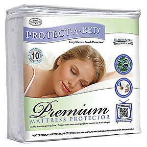 Mattress Pad,Queen,Terry Cotton,PK10