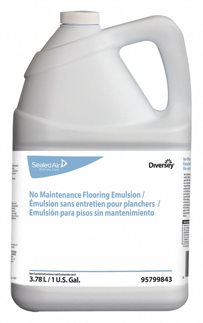 Diversey Floor Cleaner Odorless 1 Gal Pk4 46e812