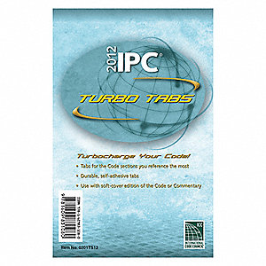 International Plumbing Code,2012,Tabs