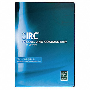 2012 IRC Code and Commentary,CD