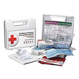 First Aid Kit,BBP,1 Person,Plastic