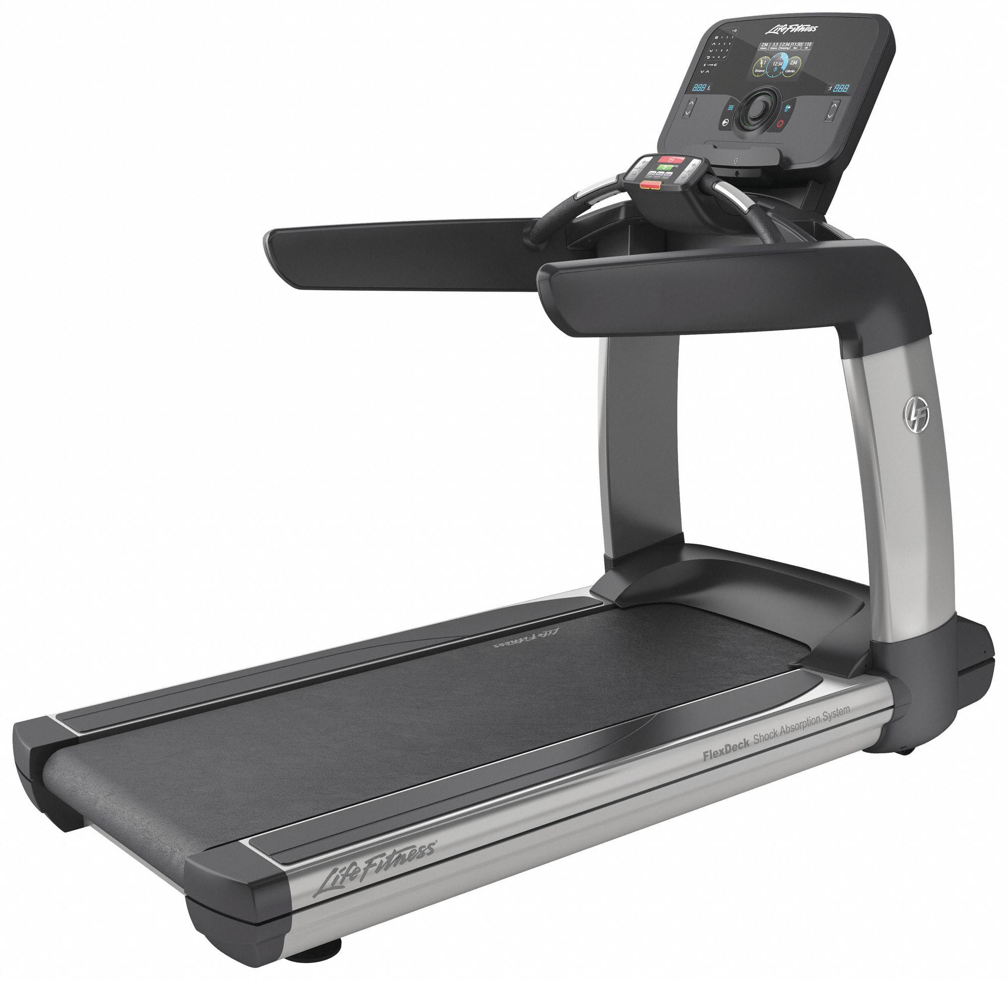 Life Fitness Treadmill History: LIFE FITNESS Treadmill, Buil In Digital Monitor