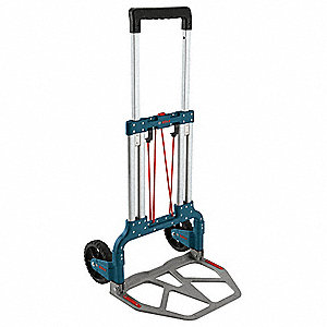 "Folding Hand Truck, Telescoping, 275 lb., Overall Width 19-1/2"", Overall Height 43"""