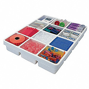 Drawer Organizer,White