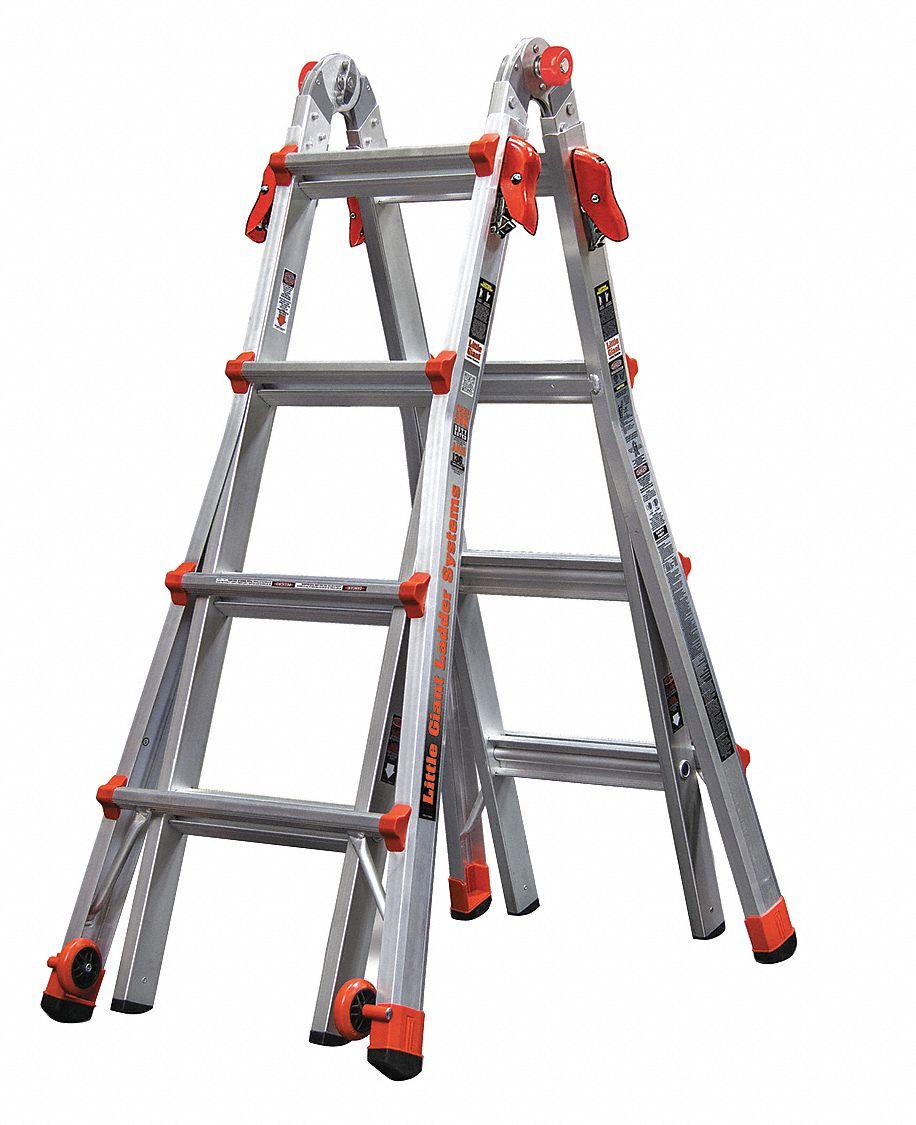Little Giant Multipurpose Ladder Aluminum 17 Ft Ia
