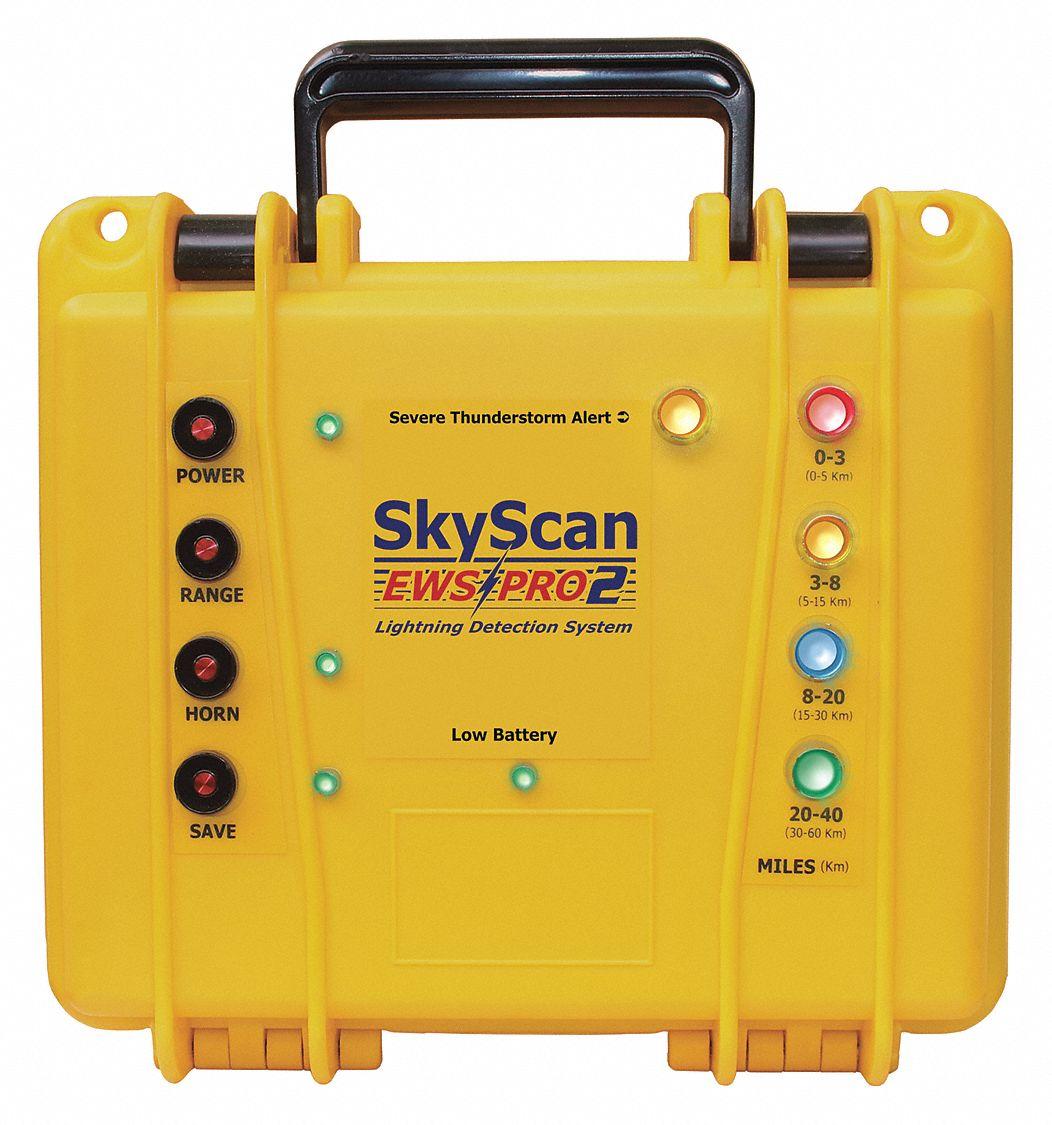 Skyscan Lightning Detector 0 To 3 Mi 3 To 8 Mi 8 To