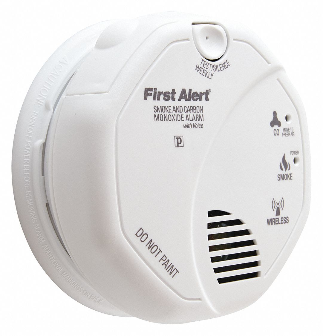 First Alert 5 Quot Carbon Monoxide And Smoke Alarm With 85db