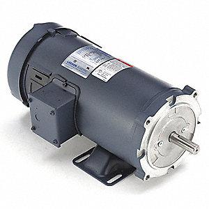 Leeson Dc Permanent Magnet Motor 7 6a 180vdc 48zg67