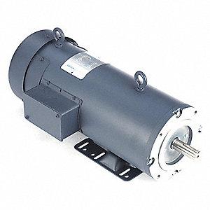 Leeson Dc Permanent Magnet Motor 9 5a 180vdc 48zg69