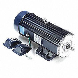 Leeson Dc Permanent Magnet Motor 14 0a 180vdc 48zg70