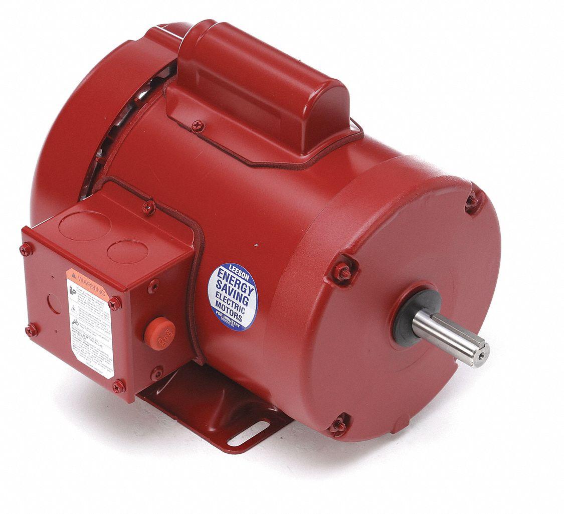 leeson 1 3 hp high torque farm duty motor capacitor start. Black Bedroom Furniture Sets. Home Design Ideas
