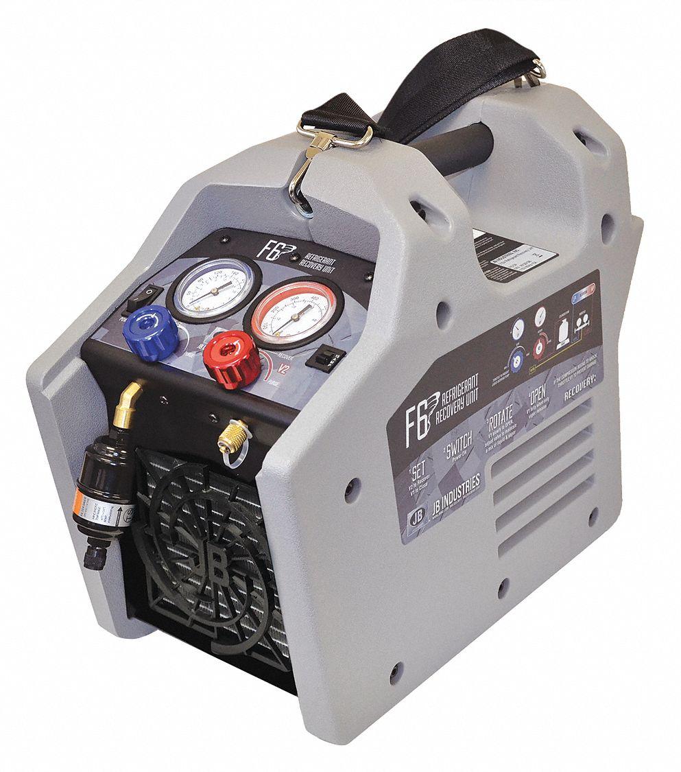 Jb Industries Refrigerant Recovery Machine 2 Port Nema 5