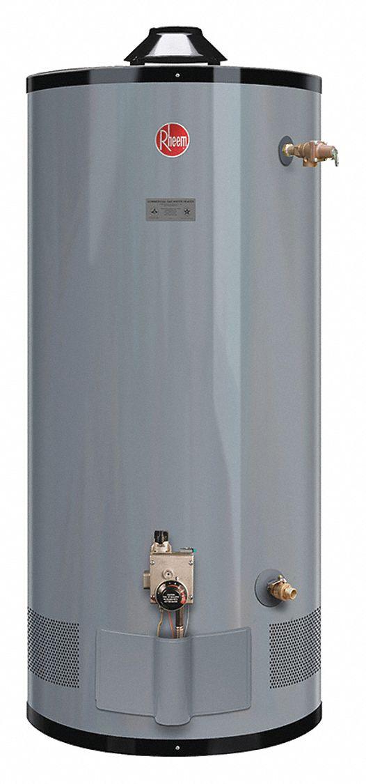 Rheem Ruud Commercial Gas Water Heater 48 0 Gal Tank