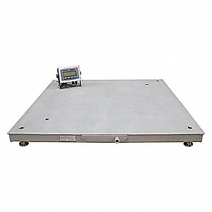 B tek floor scale 10 000 lb 48 in l ss 49ax61 bt f for 10000 lb floor scale