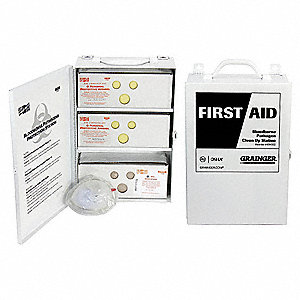 First Aid Kit,Spill Clean Up,82 pcs.