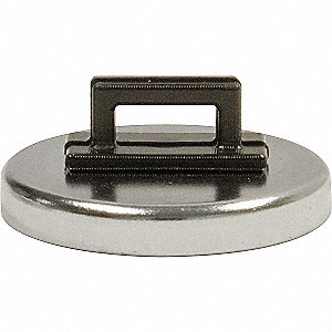 Magnet with Zip Tie Holder,14 lb. Pull