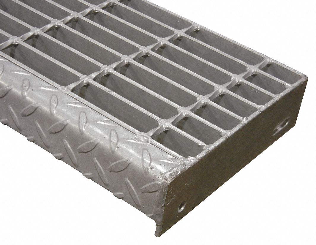 Direct Metals Bar Grating Stair Tread Smooth Surface