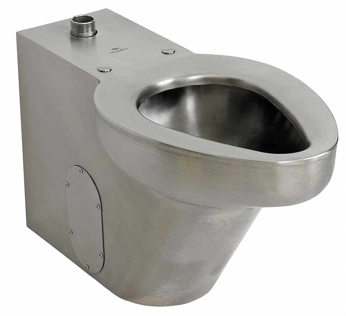 Acorn Floor Flush Valve Toilet 1 1 2 Npt Satin