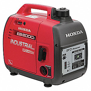 Inverter Generator, 120 Voltage, 1600 Rated Watts, 2000 Surge Watts, 16.7/NA Amps @ 120/240V