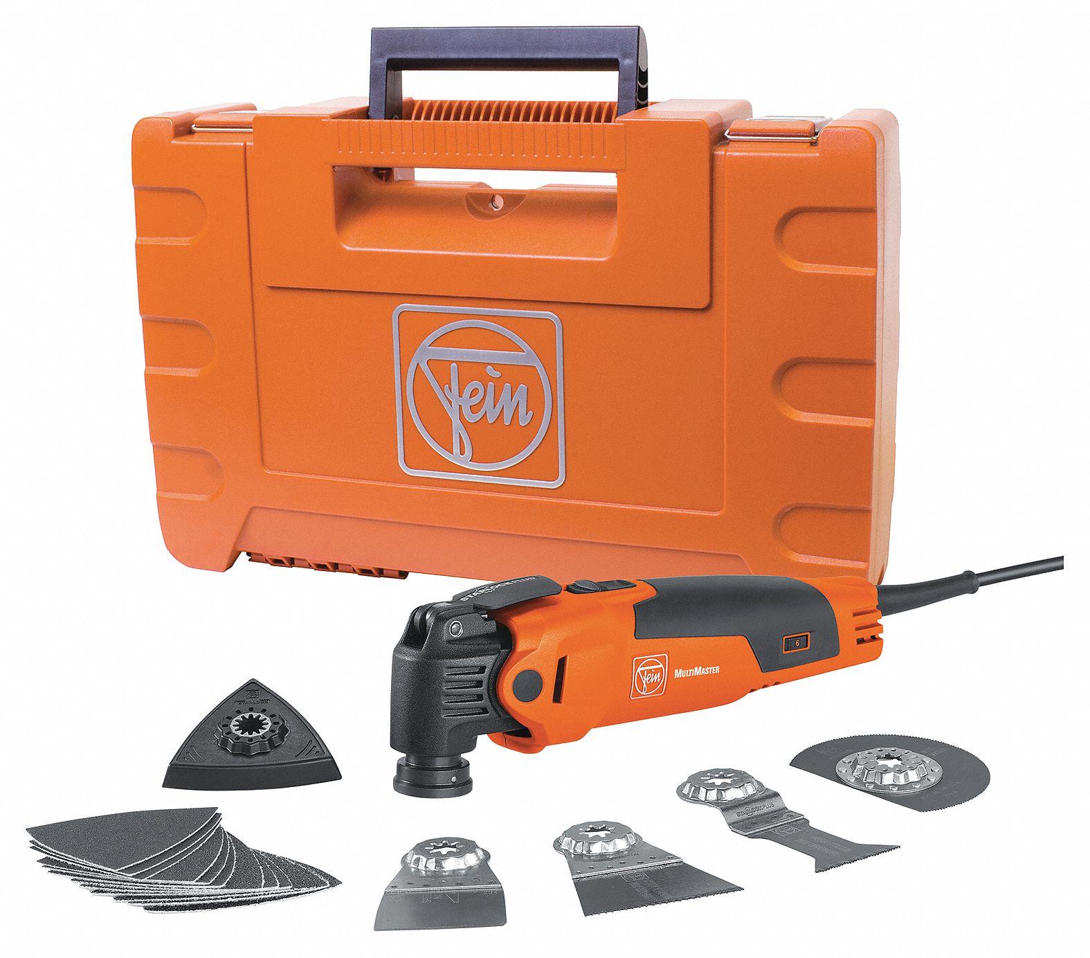 fein oscillating multimaster tool kit 3 6amp 49wm31 fmm 350qsl quick start grainger. Black Bedroom Furniture Sets. Home Design Ideas