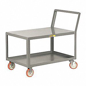 Welded Low Deck Utility Cart
