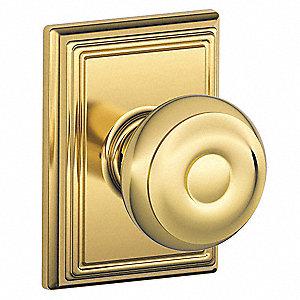 how to get a passage knob to close