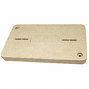 PG Underground Enclosure Cover, Blank, For Use With 15-1/2 x 25 Enclosure