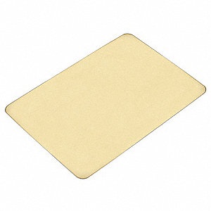 Cutting Board,Rubber,18x24x0.50 In,Buff