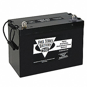 AGM Battery,12 VDC, Max Amps 90