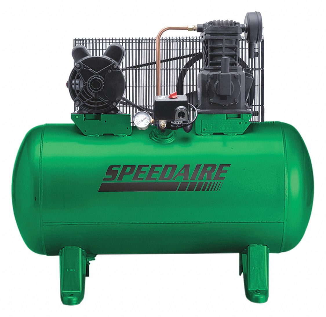 Speedaire 1 phase electrical horizontal tank mounted 2 for Single phase motor price