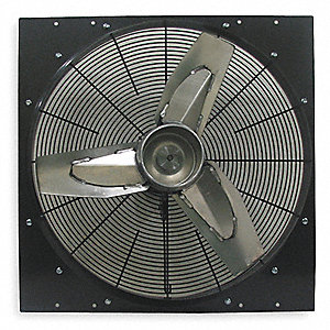 Exhaust Fan, 24 In,115 V,3710 CFM.