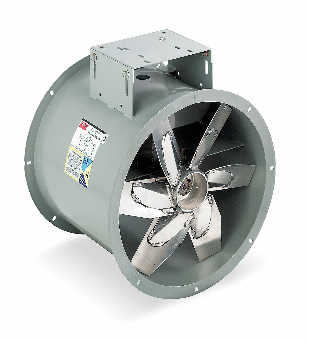 Small Tube Axial Fan : Dayton quot tubeaxial fan c grainger