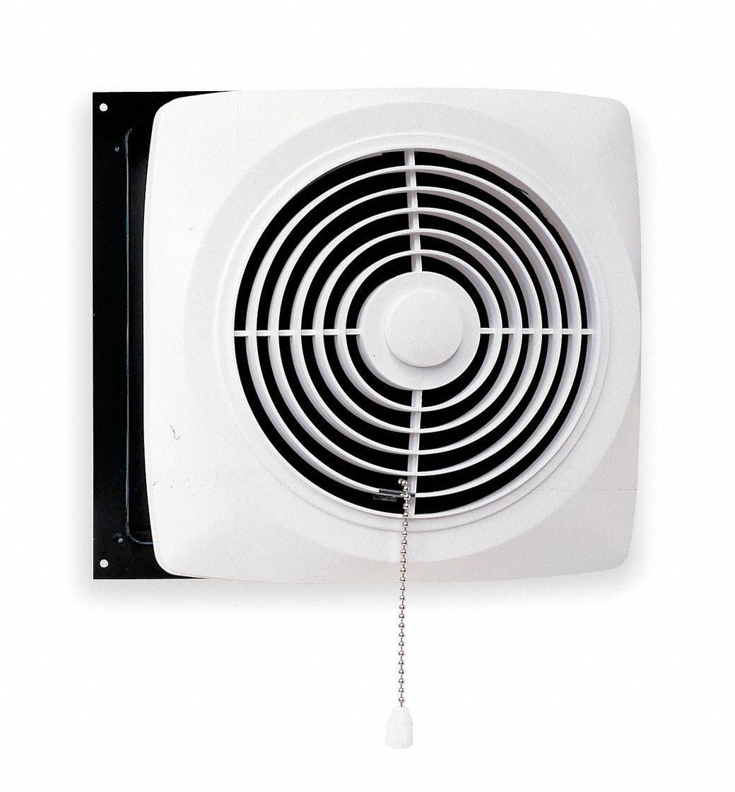 Broan Exhaust Fan Kitchen Wall Chain Operated Steel