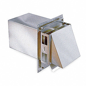Vent Hood,High Temp,8 In