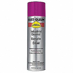 Safety Purple Rust Preventative Spray Paint, Gloss Finish, 15 oz.