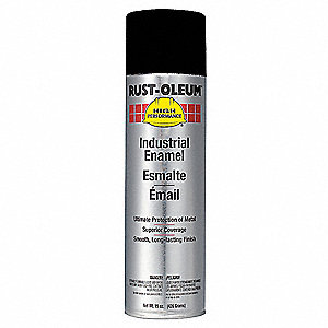 high performance rust preventative spray paint in semi gloss black for. Black Bedroom Furniture Sets. Home Design Ideas